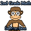 2 º grado matemáticas resta juego