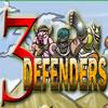 3 defensores juego