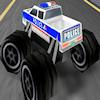 Policía 3D Monster camiones juego