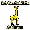 Además de matemáticas de 3 º grado juego