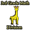 División de matemáticas de 3 º grado juego