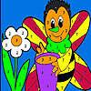 Solo miel de abeja para colorear juego