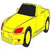 Increíble para colorear de coche rápido juego