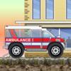 Conductor de camión ambulancia 2 juego