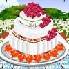 Diseño de la torta de boda americana juego