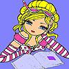 Ann en el colorante de la biblioteca juego