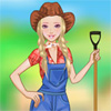 Chica barbie Farm juego