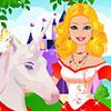 Unicornio de Barbie cuidar juego