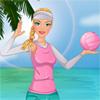 Voleibol de playa de Barbie juego