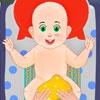 Cambio de pañal de bebé juego