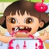 Problemas de Lora dentales de bebé juego