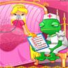 Tratamiento de gripe de Rapunzel de bebé juego