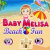 Diversión de la playa de Melisa de bebé juego
