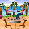 Restaurante en la playa juego