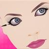 Maquillaje de pestañas belleza juego