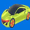 Colorear coche futuro mejor juego