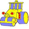 Colorear coche de rueda grande juego