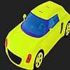 Colorear coche grande pistacho juego