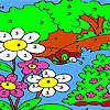 Colorear gran bosque juego