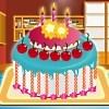 Fabricante de la torta de cumpleaños juego