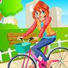 Floración bicicleta chica juego