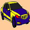 Colorante azul coche rápido juego