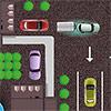 Estacionamiento de remolque de coche juego