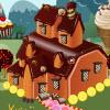 Decoración de la mansión de caramelo juego