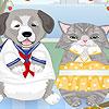 CAT Dog Dress up juego