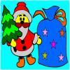 Para colorear Navidad juego