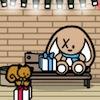 Make-A-escena de Navidad en el centro comercial juego
