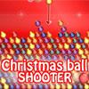 Tirador de bolas de Navidad juego
