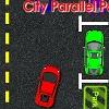 Ciudad de estacionamiento paralelo juego