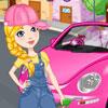 Limpiar mi nuevo beetle rosa juego