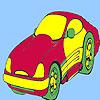 Para colorear de coches de estilo concepto juego