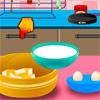 Cocinar pastel de fresa juego