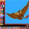 Dibujos para colorear - aves juego
