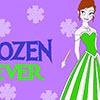 Ana para colorear congelado magia juego