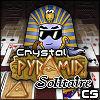 Pirámide cristal solitario juego