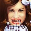 Linda chica diente problemas juego