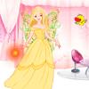 Linda muñeca vestido encantador juego
