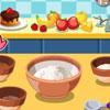 Muffins de plátano de Chocolate delicioso juego