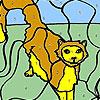 Gato mareado para colorear juego