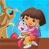 Dora salva a botas juego