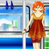 Vestir Chica en el tren juego