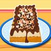 Pastel de helado de moka fácil Chip juego