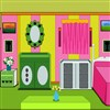 Escape habitación bebé de color juego