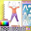 Studio moda - ropa de deporte juego