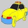 Colorear coche de policía rápido juego