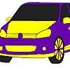 Colorear coche de fuego rápido juego